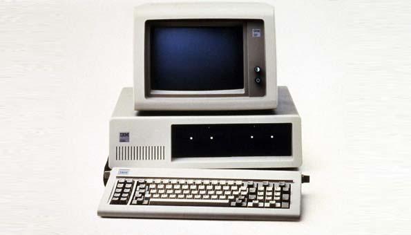 El primer PC salió al mercado en 1981 de la mano de IBM.