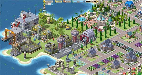 Empires & Allies, imagen del juego de Zynga.