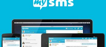 El nuevo mysms App para Android se sincroniza en smartphones, tablets y PCs