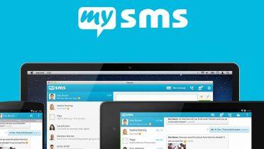 El nuevo mysms App para Android se sincroniza en smartphones, tablets y PCs