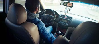El conductor español es un manojo de nervios