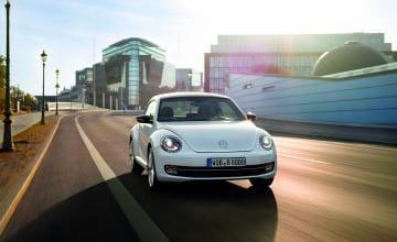 Nuevo escarabajo Beetle de Volkswagen 2011.