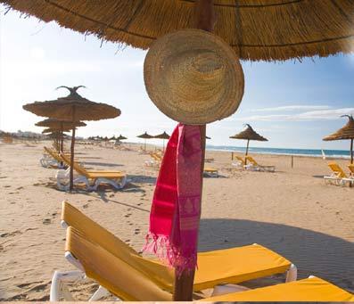 Playa de Saidia.