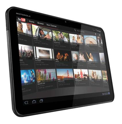 La tablet Motorola Xoom.