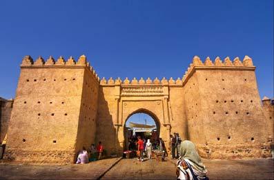 Medina en Marruecos.