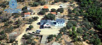 Así era una de las casas en la que vivían los detenidos por venta de drogas en la operación 'Azaleas'
