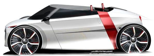 Audi urban concept car.
