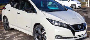 Los primeros Nissan Leaf llegan a España por 29.950 euros, incluidas las ayudas del coche eléctrico
