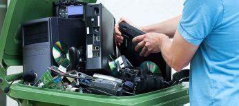 La basura electrónica se cobra a los ciudadanos aunque ni fabricantes ni ayuntamientos la reciclan