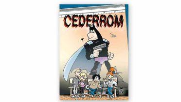 Cederrom es el nuevo personaje de cómic de Jan, creador de Súper López