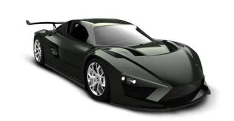 El prototipo All Electric GT, el coche eléctrico más veloz.
