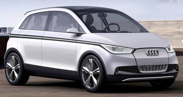 Concept de Audi A2.