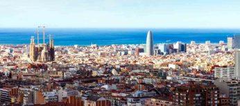 Rascacielos skyline Barcelona