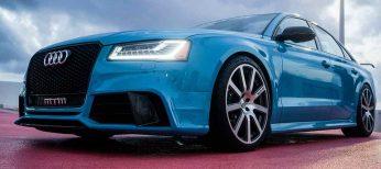Nuevo Audi S8: 520 CV de lujo y deportividad