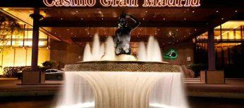 Entrada del casino Gran Madrid de Torrelodones