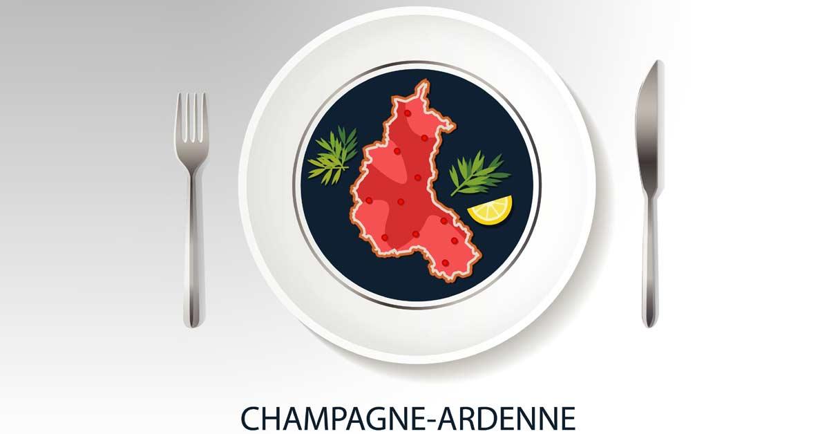 El origen del champán, en la región francesa de Champagne-ardenne