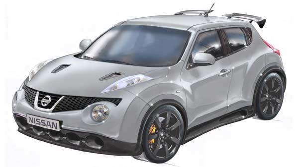 El nuevo Nissan Juke R.