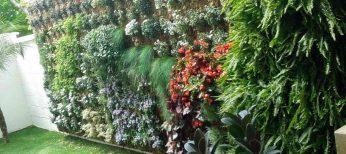 Los jardines verticales ahorran energía