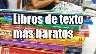 ¿Dónde puedo comprar los libros de texto más baratos?
