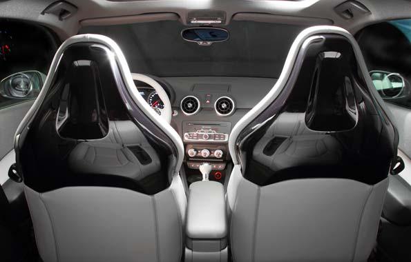Personaliza el interior de tu Audi.