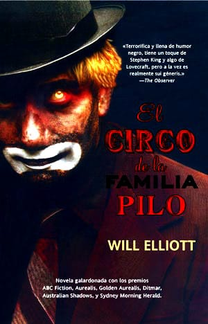 Portada de la novela 'El circo de la familia Pilo'.