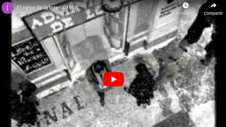 Video anuncio de el calvo de la Lotería