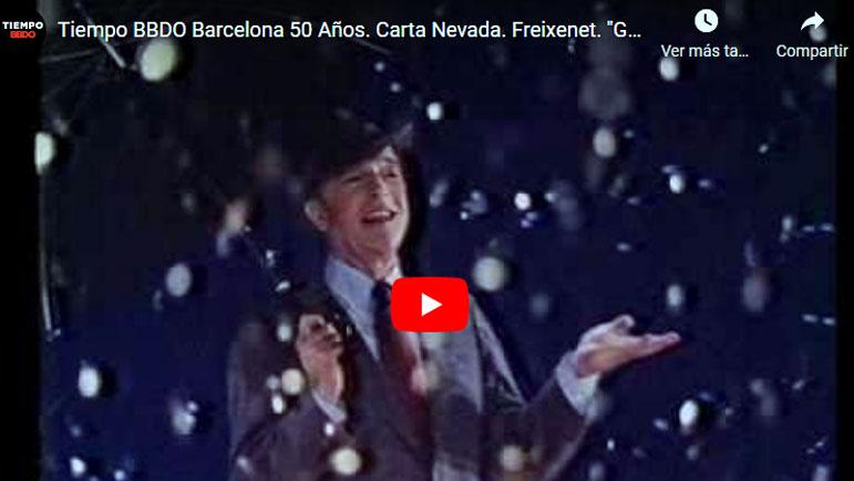Video anuncio de Freixenet