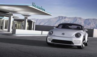Así será el nuevo Beetle eléctrico.
