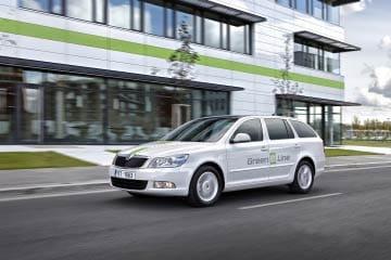 Skooda Octavia Green E Line, primer vehículo eléctrico de la marca.