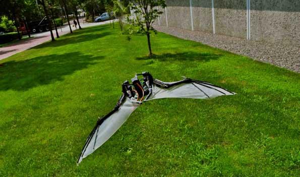 El robot murciélago, BatBot.