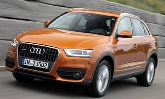 Audi Q3, uno de los coches más seguros.