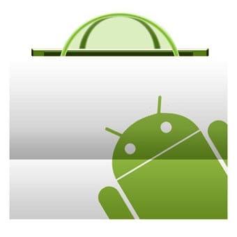 Logo del Market de Android.
