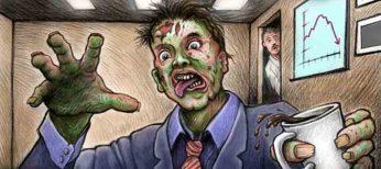 Cómo saber si eres un empleado zombie