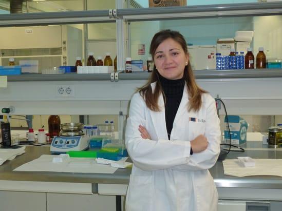 Belén San Román, principal investigadora del descubrimiento contra la obesidad.
