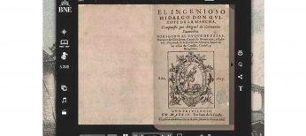 El 'Quijote' en castellano antiguo y también multimedia se comparte con Facebook
