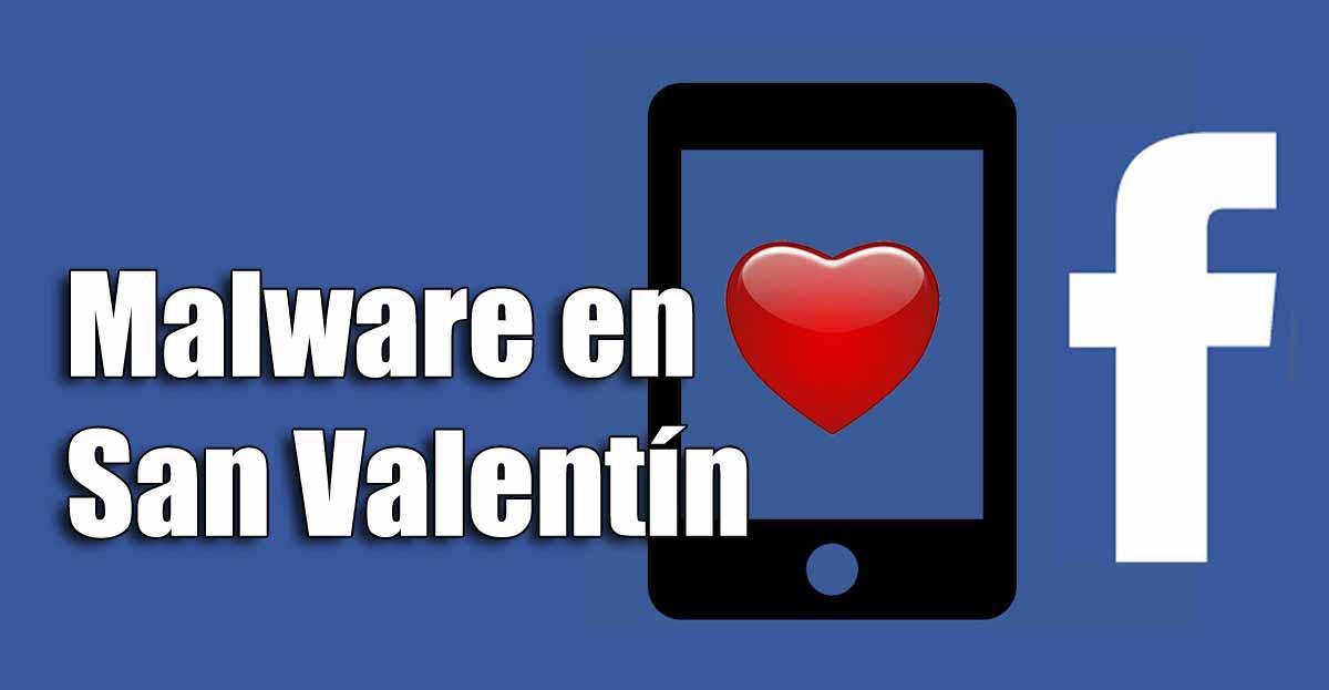No instales un perfil de San Valentín en tu muro de Facebook, es malware