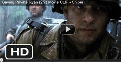 Fotograma de la película 'Salvar al soldado Ryan'.