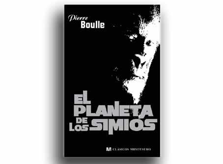 Portada de la novela 'El planeta de los simios', de Pierre Boulle.