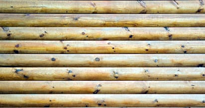 Listones de madera.
