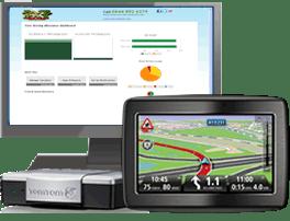 El navegador de TomTom que se instala en el coche y con el que se analiza el precio que se tiene que pagar por el seguro del coche en función de la forma de conducir del conductor.