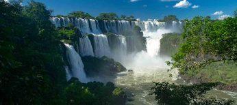 Gran parte de las Cataratas del Iguazú se secan por la falta de lluvia