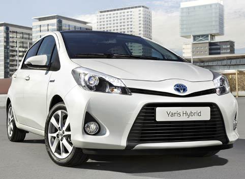 Nuevo Toyota Yaris Híbrido 2012.