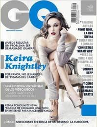 Portada de la revista 'GQ' de mayo de 2012.