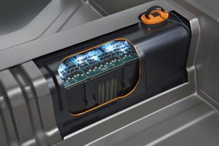 Batería de litio del Opel Ampera.