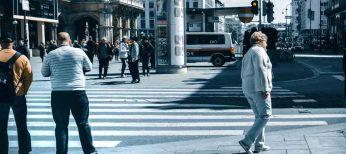 Peatones más seguros con coches que evitan los atropellos