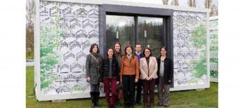 Investigan cómo construir casas con módulos de cristal y agua para para ahorrar energía