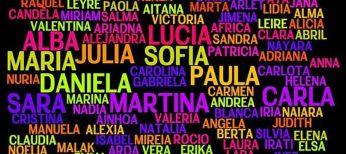 Los 100 nombres más elegidos para los recién nacidos, tanto niños como niñas