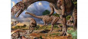 Los pedos de los dinosaurios calentaron la Tierra