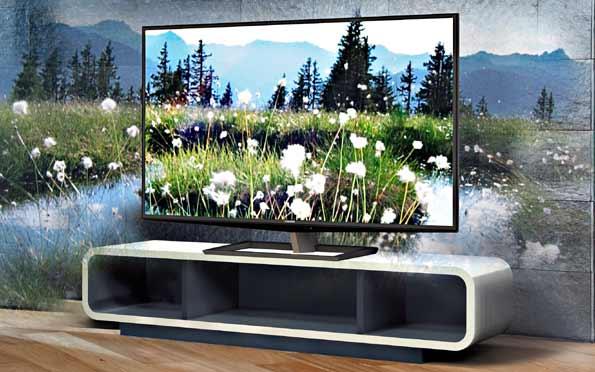 Televisor 3D sin gafas de Toshiba.