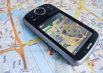 Los smartphones pueden ser localizados por el GPS.